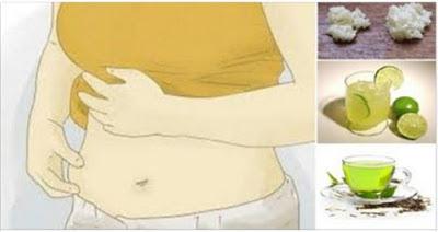 تخلص من جميع الدهون بجسدك   بهذا المشروب الرائع بعد كل وجبة واخسري وزنك بسرعة