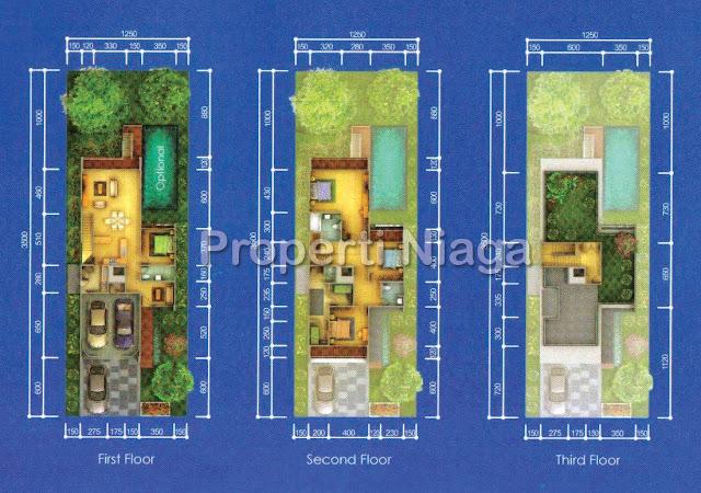 Denah-Rever-View-Residence-Tipe-River-Star-Downslope-tipe-A_1