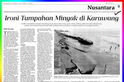 The irony of an oil spill on Karawang