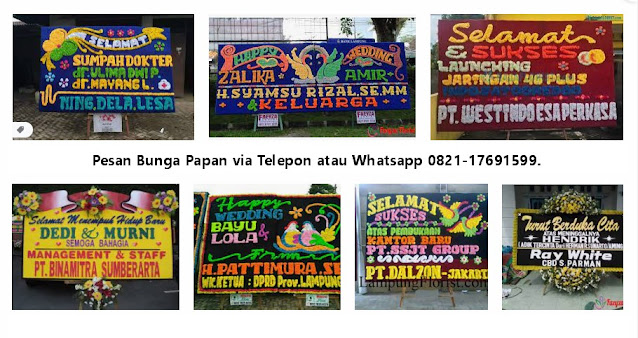 Toko Bunga Bandar Lampung