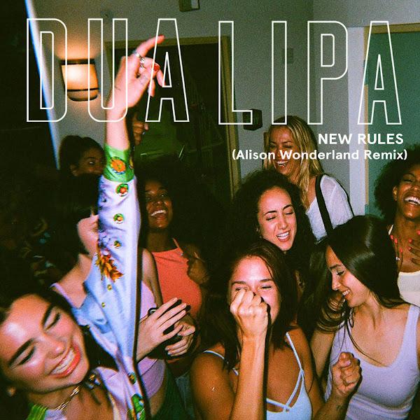 Dua Lipa - New Rules (Alison Wonderland Remix) - Single Cover