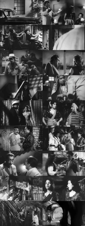 Screen Shot Of Howrah Bridge 1958 300MB HDRip 480P Full Hindi Movie Watch Online Free Download