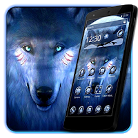 Black Cool Wolf King Theme Apk free Download for Android