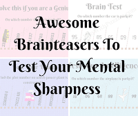 Awesome Brainteasers To Test Your Mental Sharpness