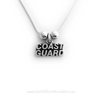This Coast Guard Grandma Necklace is shown with a Coast Guard Charm, Grandma Charm, Heart Flag Charm. You may add additional charms to your order. This Coast Guard Grandma Necklace is shown with a Coast Guard Charm, Grandma Charm, Heart Flag Charm. You may add additional charms to your order.