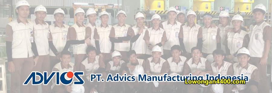 Lowongan Kerja Operator PT. Advics Manufacturing Indonesia KIIC Karawang
