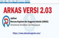UPDATE APLIKASI RKAS VERSI 2.03 sdnsobang1