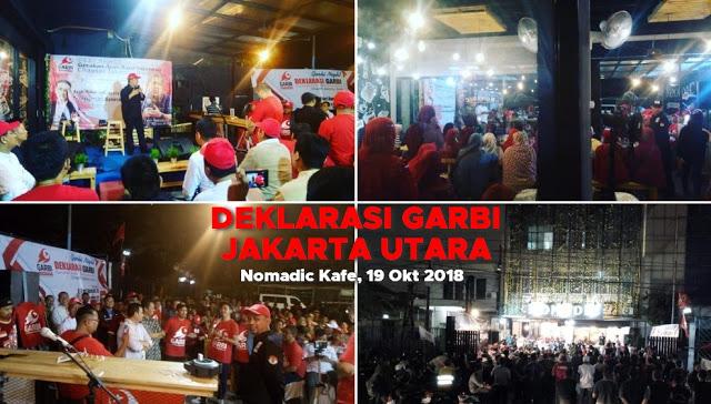 Deklarasi Garbi Chapter Jakarta Utara Petjahhh