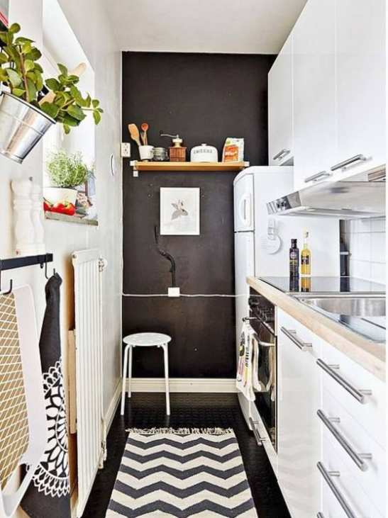 inilah 17 model keren tata ruang dapur minimalis untuk