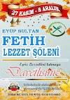 Eyüp Sultan Fetih Lezzet Şöleni