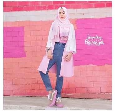 Aneka Model Busana Muslim Modern Untuk Anak Muda Yang Kekinian