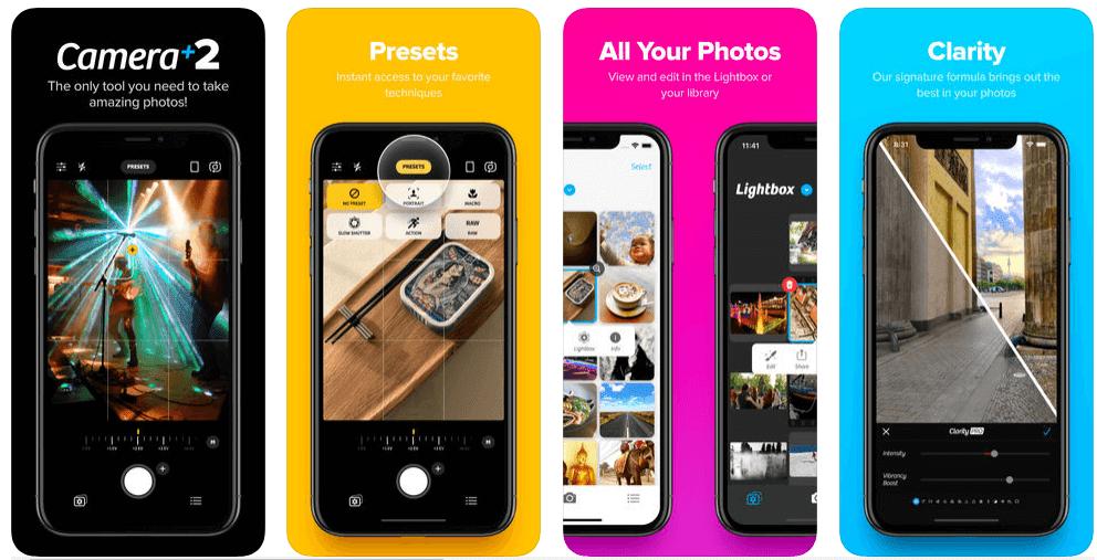 افضل تطبيقات الكاميرا والتصوير لهواتف الايفون