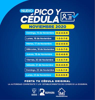 hoyennoticia.com, Riohacha sigue con Pico y Cédula hasta el 23 de noviembre