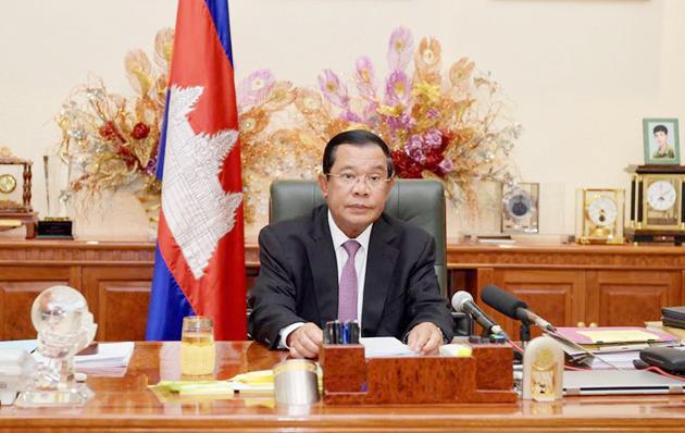 Samdech Techo Hun Sèn, Premier Ministre du Royaume du Cambodge