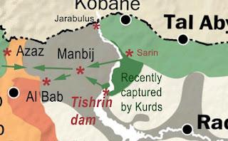 Turkish, US forces in Syria to form 'safe zone' around Manbij city