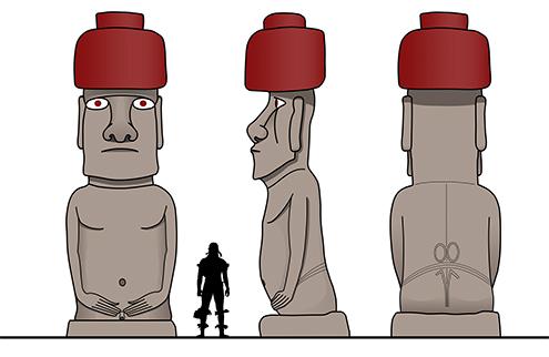 moai-ko-te-riku-ahu-tahai-isla-de-pascua-moais-historia-dibujo-dibujos-la-cuantos-hay-drawings-ilustration-ilustraciones-illustrations-illustration