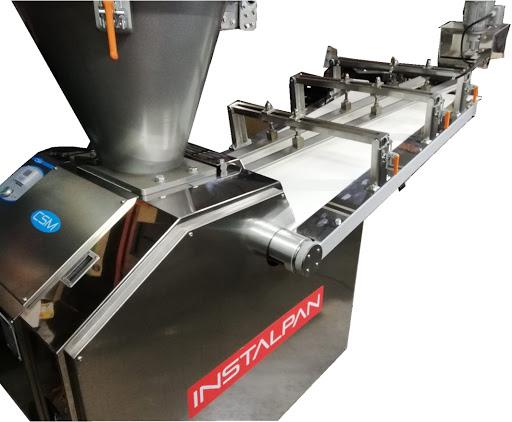 Maquinaria para panaderías, pesadora heñidora Compaq
