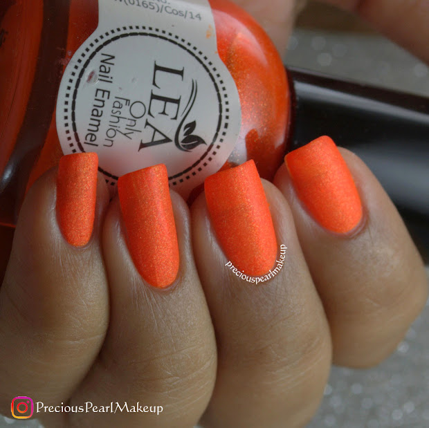 preciouspearlmakeup matte orange