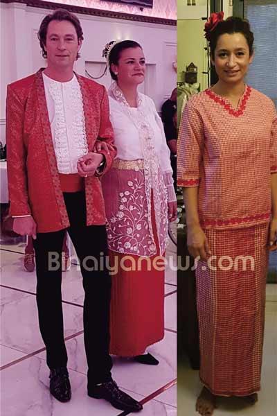 Joan Leleury Gelar Fashion Show Adat Maluku di Belanda