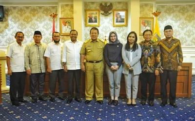 Pemprov Lampung Menerima Kunjungan Komite II DPD RI