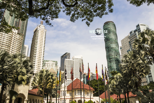 Skyscrapers in Kuala Lumpur, Malaysia. www.WELTREISE.tv