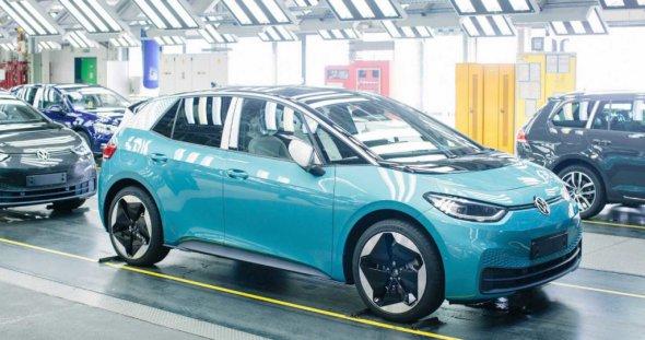 Електромобілі Volkswagen виготовлятимуть в Україні
