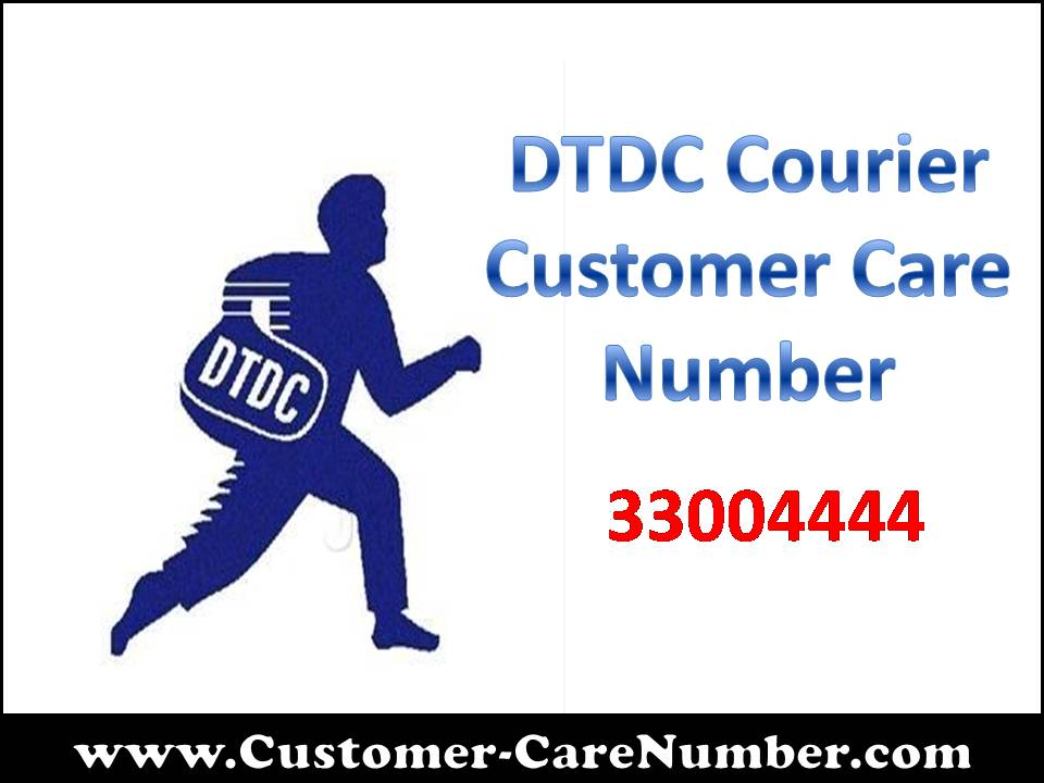 DTDC Courier Customer Care Number