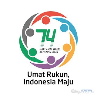 HAB Kemenag 74 Tahun 2020 Logo vector (.cdr)