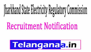Jharkhand State Electricity Regulatory Commission JSERC Recruitment 2017