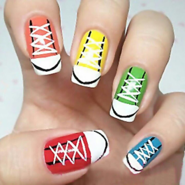 2018} Happy New Year Nail Designs Ideas - Happy New Year 2018 ...