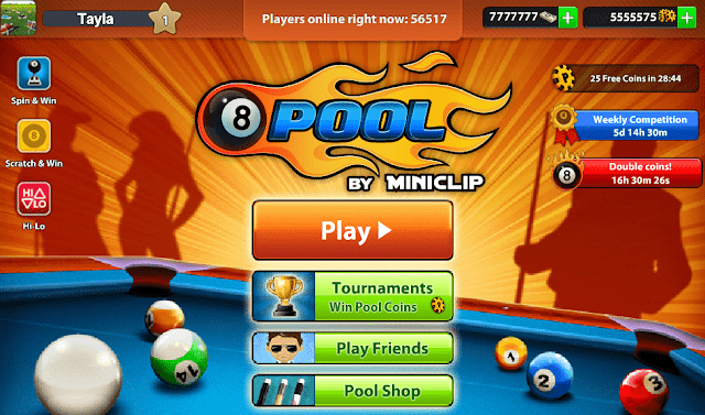akun 8 ball pool gratis
