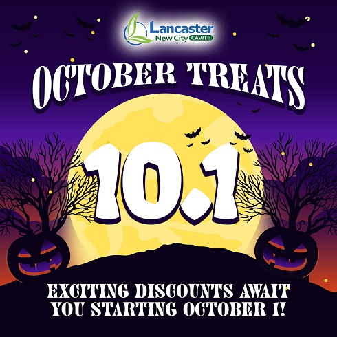 Exciting discounts await you this October in Lancaster New City