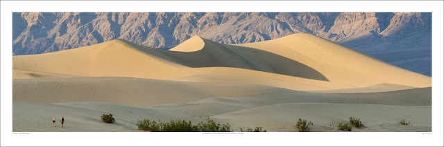 Death Valley sand dunes wide panoramic photo prints for sale, Tuxyso wikipedia Owen Art Studios