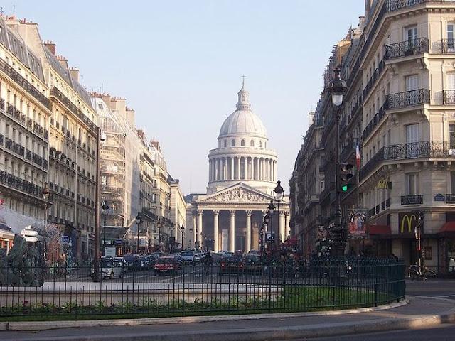 Vista do Quartier Latin em Paris