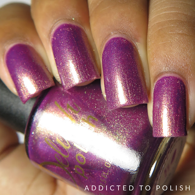 Delush Polish Love at First Bite High and Mightea swatches