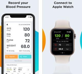 Smart Blood Pressure Tracker-افضل برامج لقياس ضغط الدم لاندرويد والآيفون