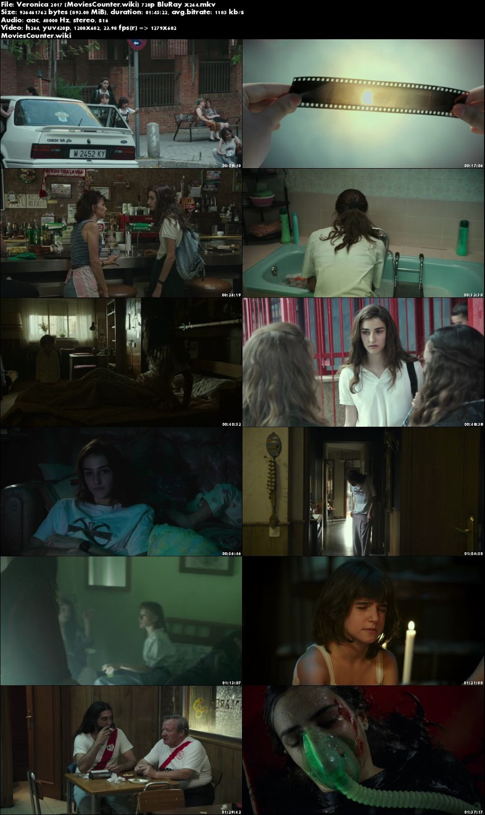 Screen Shots Veronica 2017 Spanish HD 720p