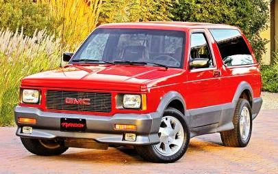 1992-'93 GMC Typhoon