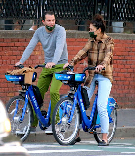 katie holmes riding electric citi bike in the lower manhattan ny 10 20 2020 3