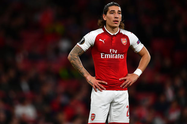 Hector Bellerin happy at Arsenal