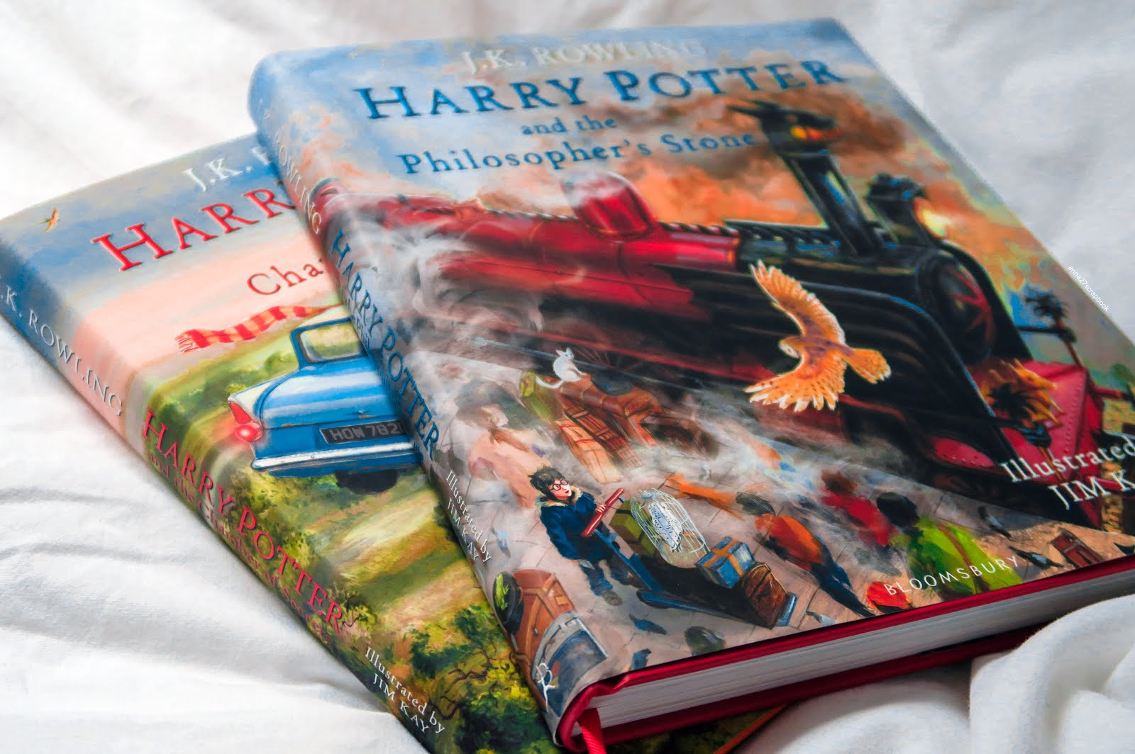 HARRY POTTER ILLUSTRATED EDITION BOOKS PHILOSOPHERS STONE AND CHAMBER OF SECRETS | ANNA TWENTY SEVEN
