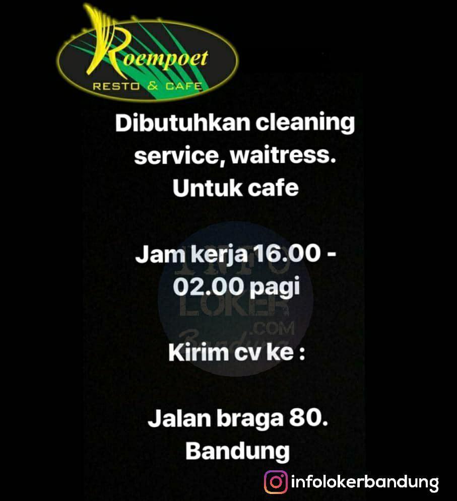 Lowongan Kerja Roempoet Resto & Cafe Bandung November 2018