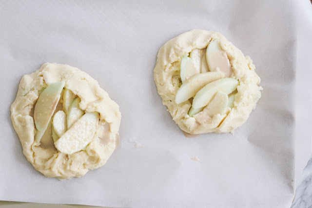 Easter Apple Butterscotch Galette Nests Gluten-Free Dairy-Free