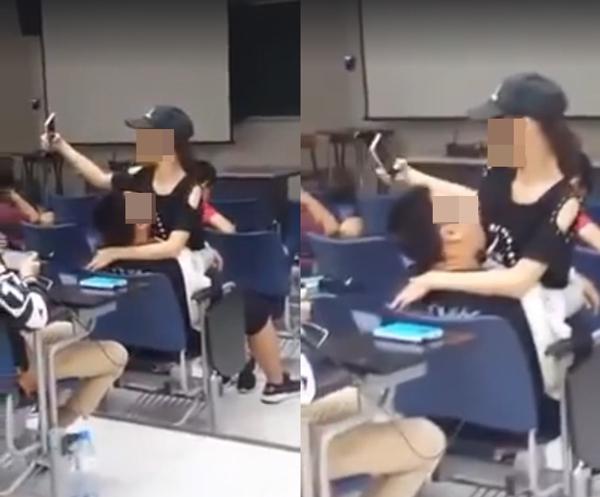 Cặp đôi ngang nhiên yêu trong lớp khiến bạn học tức 'nổ mắt'