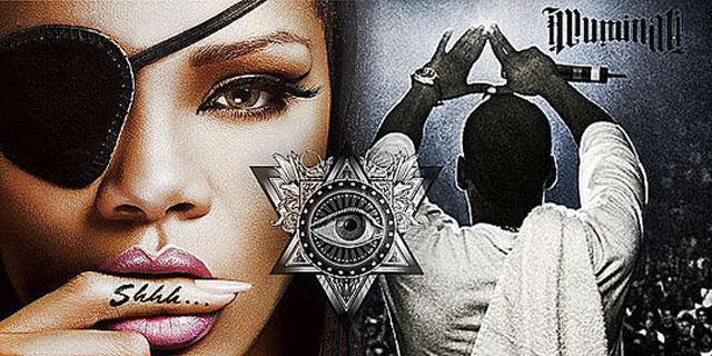Rihanna Anggota Illuminati