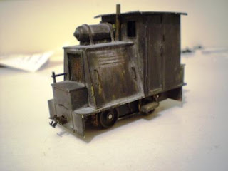Cardboard loco in 7mm scale