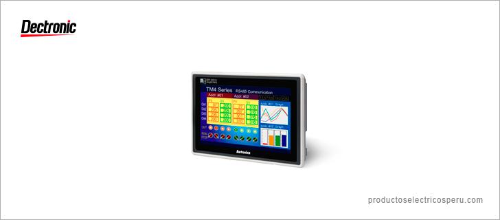 Panel gráfico Serie GP-S070 - Autonics