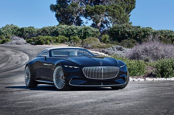 Mercedes-Maybach Unveils a Stunning New All-Electric Luxury Convertible