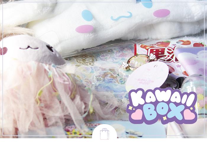 Kawaii Box: Review & Sorteio! Fantasyland - A caixa cheia de magia!