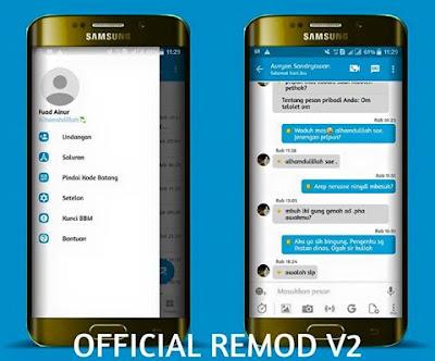 BBM Official Remod V2 Base BBM 3.2.0.6 Apk